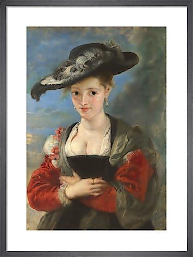 Portrait of Susanna Lunden ('Le Chapeau de Paille') by Sir Peter Paul Rubens
