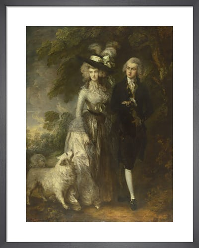 Mr and Mrs William Hallett ('The Morning Walk') by Thomas Gainsborough