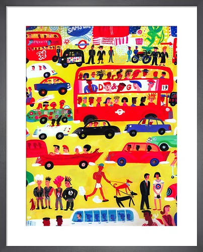 London Traffic by Christopher Corr