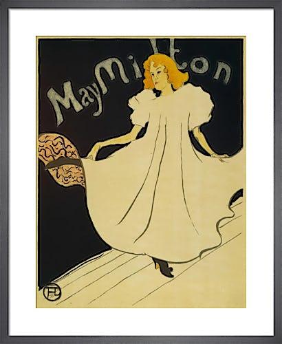May Milton, 1895 by Henri de Toulouse-Lautrec