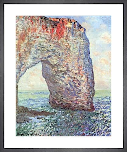 The Manneporte near Etrat, 1886 by Claude Monet