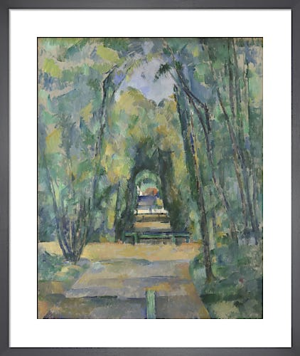 Avenue at Chantilly by Paul Cézanne