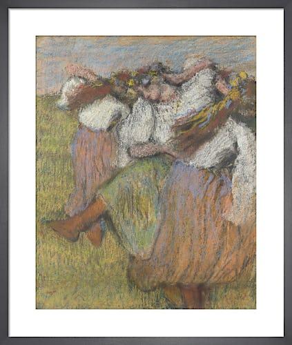 Russian Dancers by Edgar Degas
