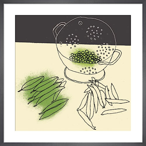 Shelling Peas by Rosie Scott