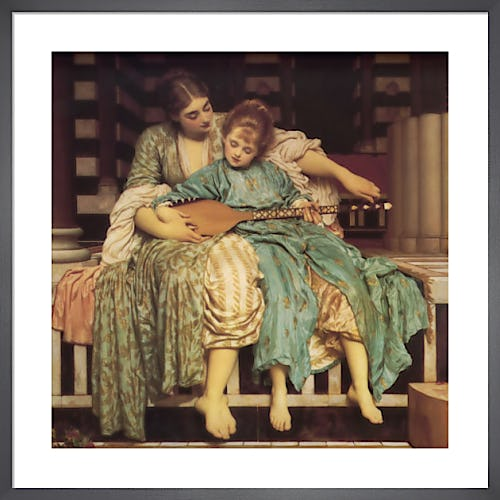 Music Lesson by Lord Frederic Leighton