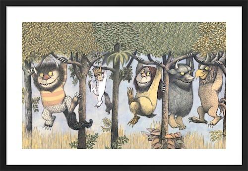 Let the Wild Rumpus Start II by Maurice Sendak