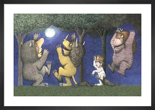 Let the Wild Rumpus Start I by Maurice Sendak