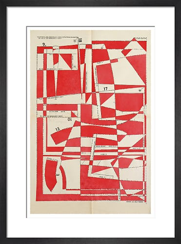 Lost Gardens No.3 (red) by Hormazd Narielwalla