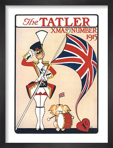 The Tatler, Christmas Number 1915 by Annie Fish