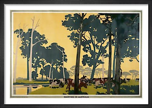 Empire Marketing Board - Dairying in Australia by Frank Newbould