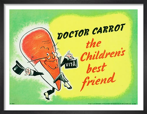 Doctor Carrot - the Children's Best Friend from Imperial War Museums