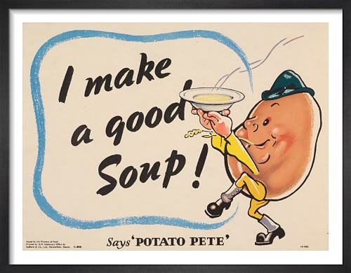 I Make a Good Soup - Says Potato Pete from Imperial War Museums