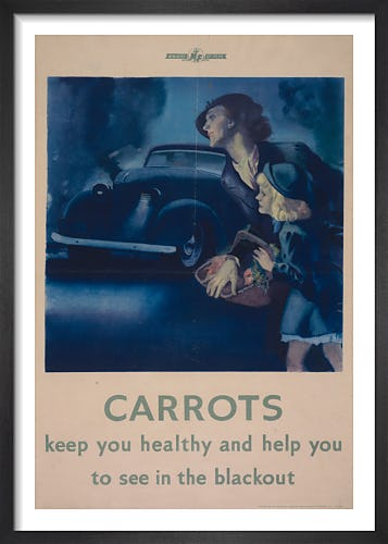 Carrots Keep You Healthy from Imperial War Museums