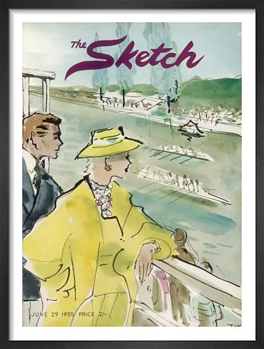 The Sketch, 29 June 1955 by T.W.