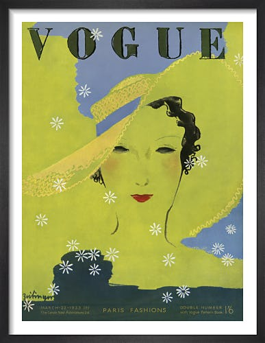Vogue March 1933 by Georges Lepape