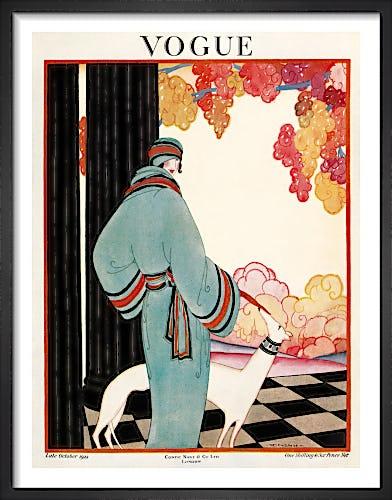 Vogue, Late October 1922 by Helen Dryden