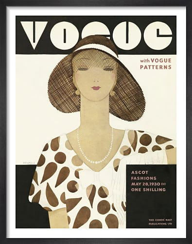 Vogue May 1930 by Harriet Meserole