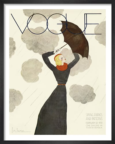 Vogue February 1933 by Georges Lepape