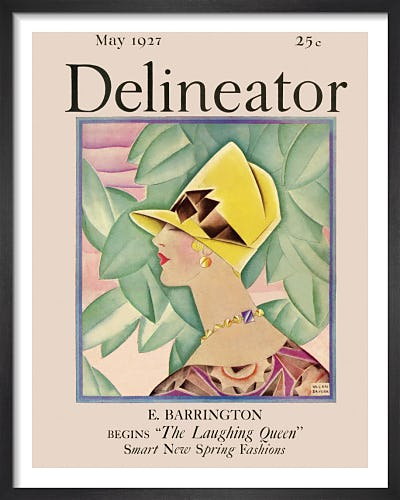 Delineator, May 1927 by Helen Dryden