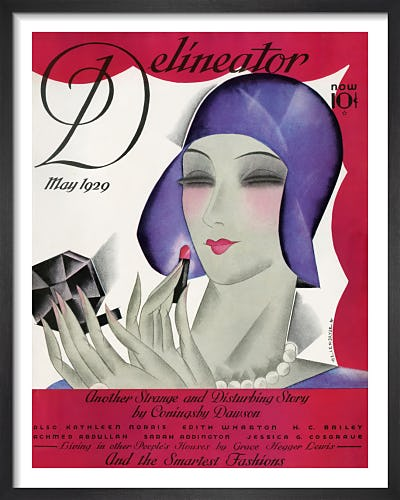 Delineator, May 1929 by Helen Dryden