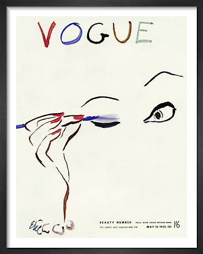 Vogue May 1935 by Eric
