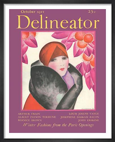 Delineator, October 1927 by Helen Dryden