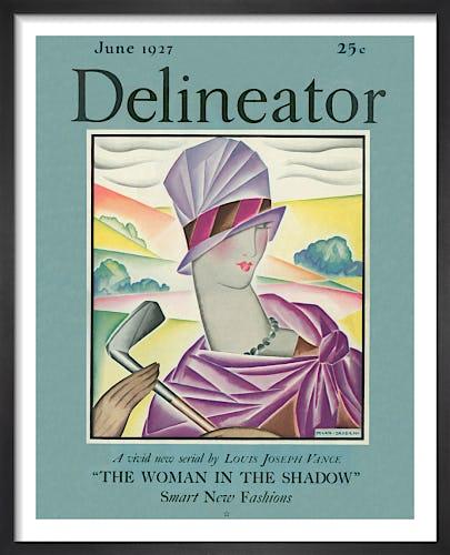 Delineator, June 1927 by Helen Dryden