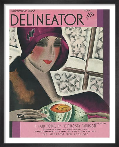 Delineator, November 1929 by Helen Dryden
