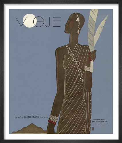 Vogue January 1933 by Eduardo Benito