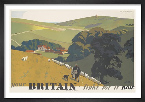 Your Britain - Fight for it Now (South Downs) by Frank Newbould
