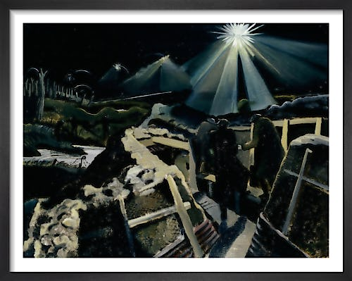 The Ypres Salient at Night by Paul Nash