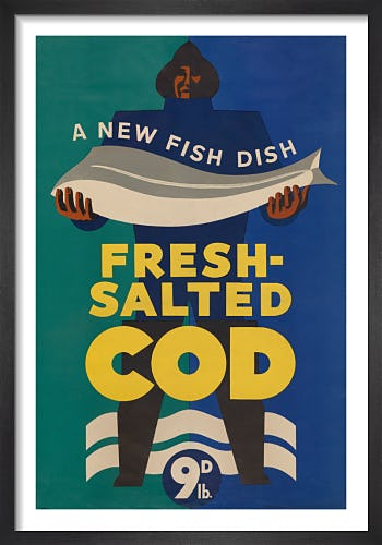 A New Fish Dish - Fresh-Salted Cod from Imperial War Museums