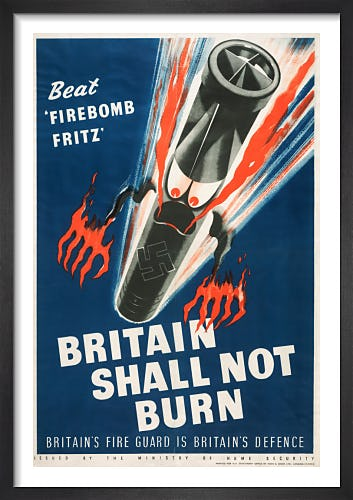 Beat 'Firebomb Fritz' - Britain Shall not Burn by Fritz Rosen