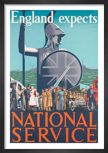 England Expects - National Service by Cecil Walter Bacon