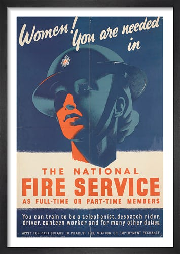 Women! You are Needed in the National Fire Service from Imperial War Museums