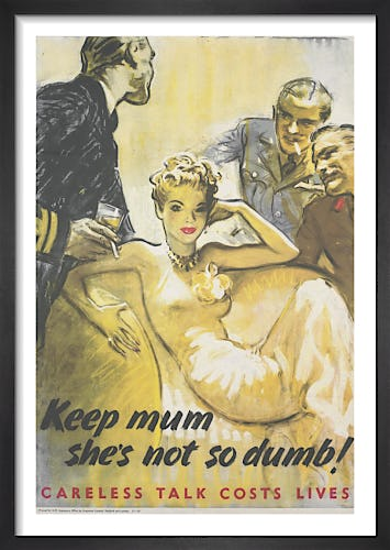 Keep Mum - She's Not so Dumb! by Harold Forster (attr.)