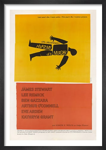 Anatomy of a Murder by Saul Bass