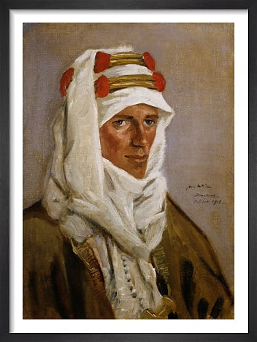 Lieutenant-Colonel T E Lawrence, CB, DSO, 1918 by James McBey