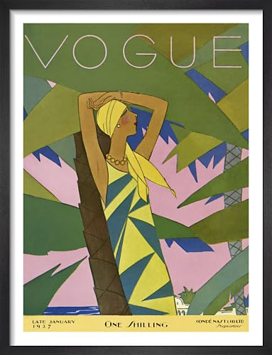 Vogue Late January 1927 by Eduardo Benito