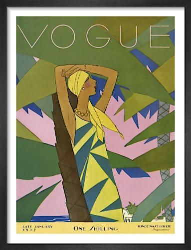 Vogue Late January 1927 by Eduardo Benito