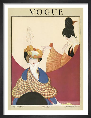 Vogue Early October 1919 by George Wolfe Plank
