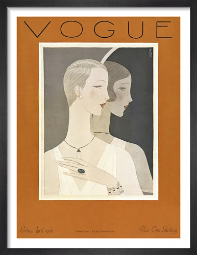 Vogue Early April 1926 by Eduardo Benito