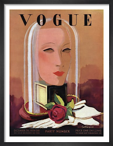 Vogue 26 December 1934 by Alex Zeilinger