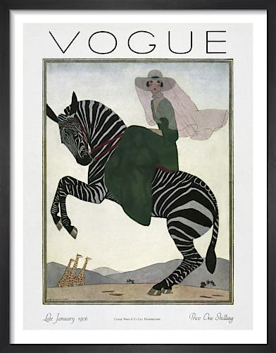 Vogue Late January 1926 by Andre Edouard Marty