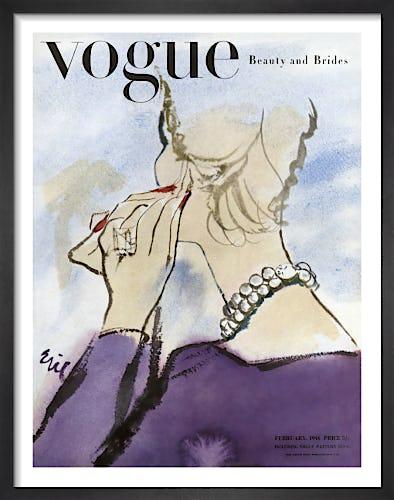 Vogue February 1946 by (Eric) Carl Erickson