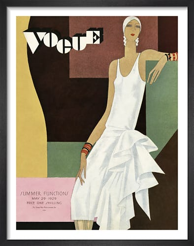 Vogue May 1929 by Bolin