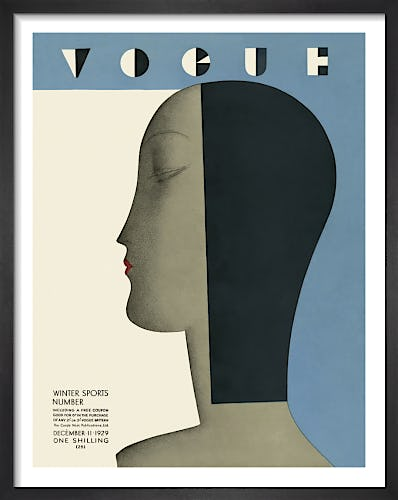 Vogue December 1929 by Benitot