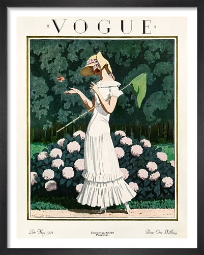 Vogue, Late May 1924 by Pierre Brissaud