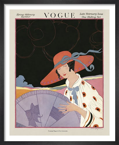 Vogue Late February 1917 by Helen Dryden