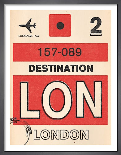 Destination - London by Nick Cranston